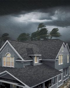 Blog picture - home in a storm