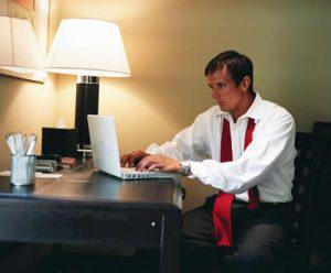 Blog - Stressed Worker